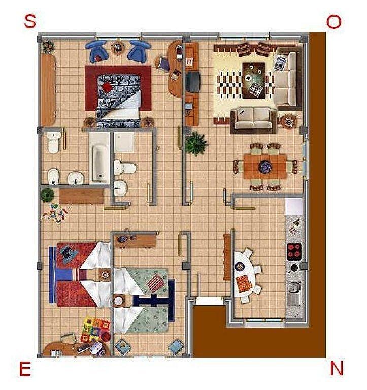 Mi casa thinglink - Plano de mi casa ...