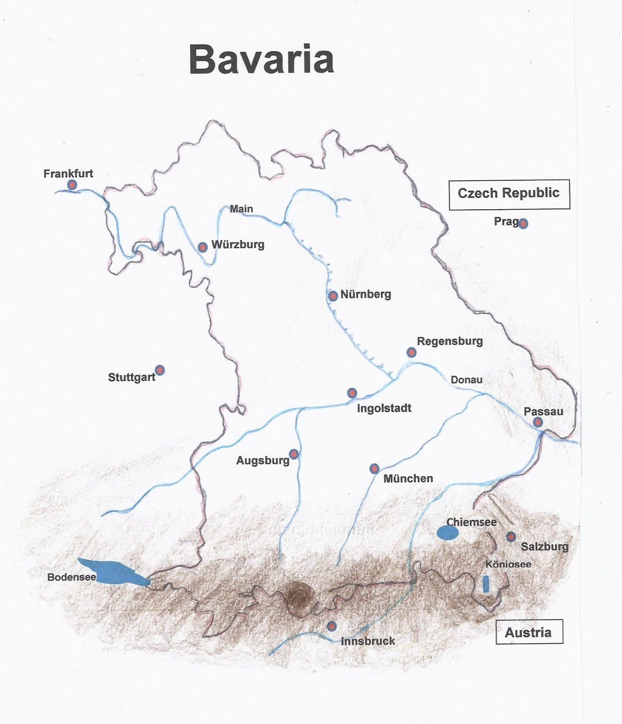 Flora in Bavaria