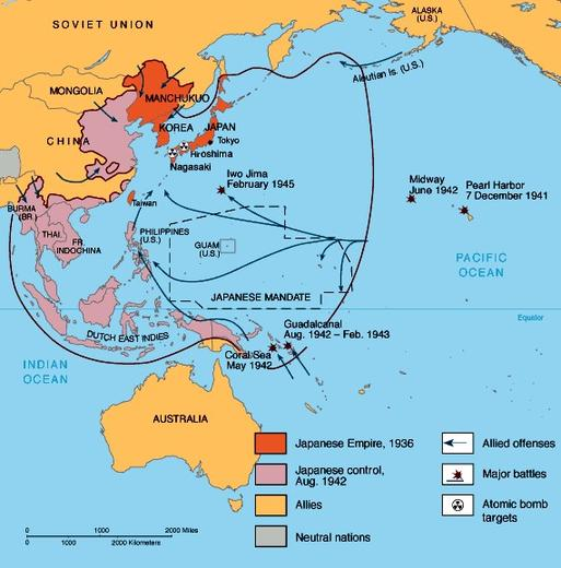 """""""World War II in Asia and the Pacific, 1940-1945"""""""