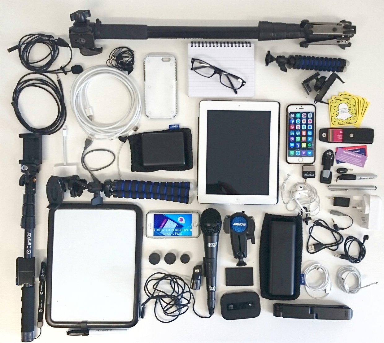 Mobile brand journalism pro kit