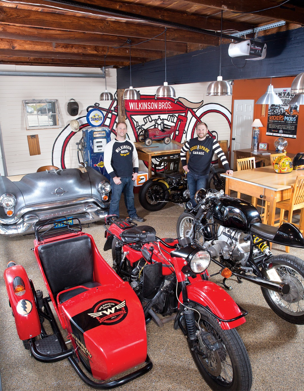 Open Door An Auto Themed Workspace Indianapolis Monthly