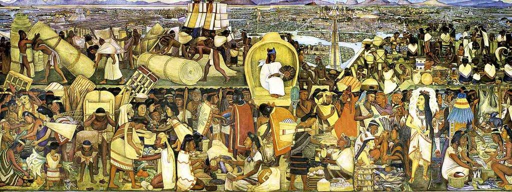 El mercado de Tlatelolco - Diego Rivera, Entre 1929 y 193...