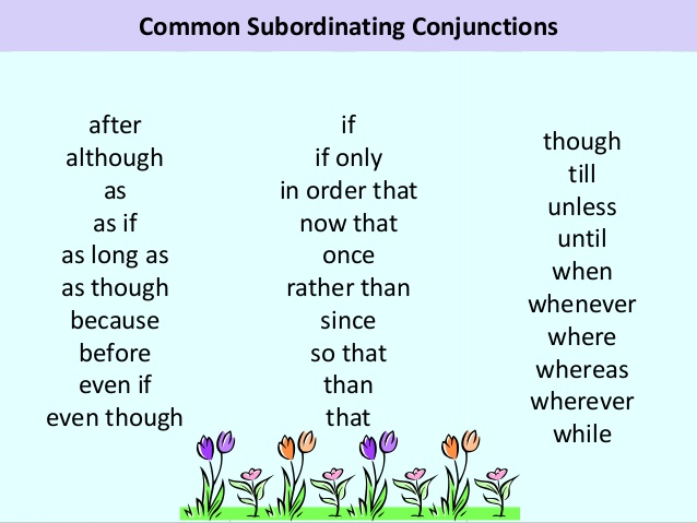 Link A A A W W U B B I S Subordinating Conjunctions A Although Unless furthermore Coordinating Conjunctions additionally Edfcb F Ef Eb E C Fb besides Co Ordinating Conjunctions likewise E Conjunctions. on subordinating words