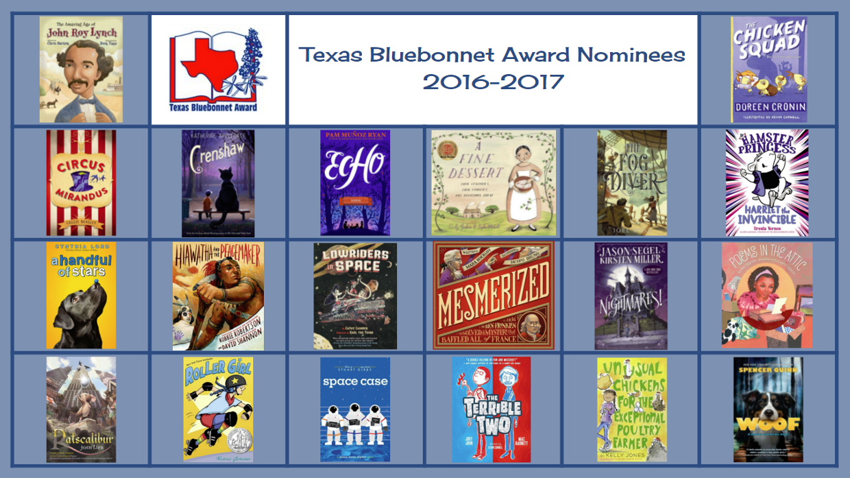 Image result for texas bluebonnet nominees