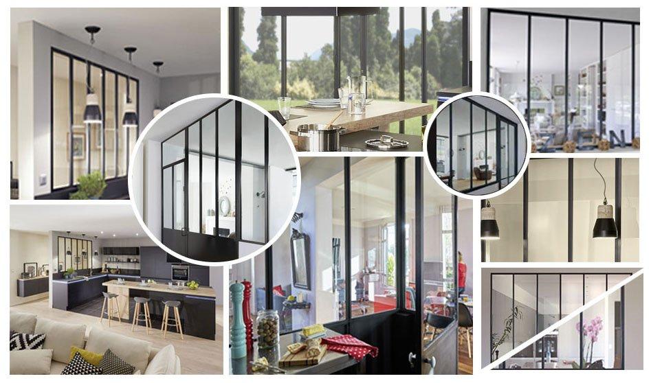 la verri re d atelier l atout luminosit de votre int rieur. Black Bedroom Furniture Sets. Home Design Ideas
