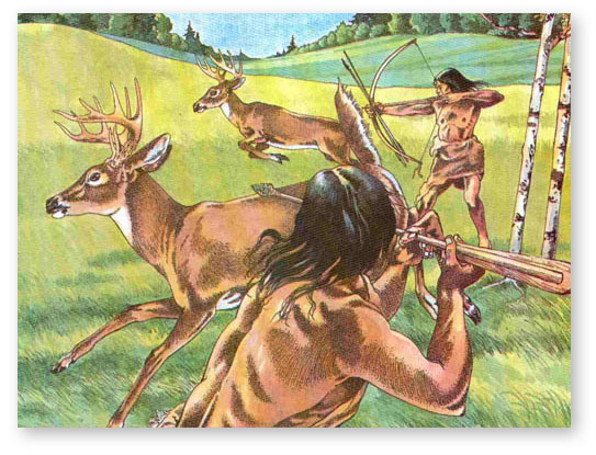 woodland Indians by:tanner