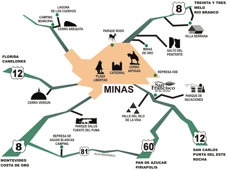 Minas tur stico thinglink for Intendencia lavalleja