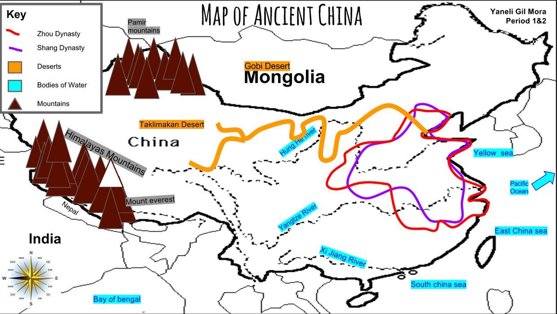 Map Of Ancient China Map Of Ancient China Map Of Ancient China