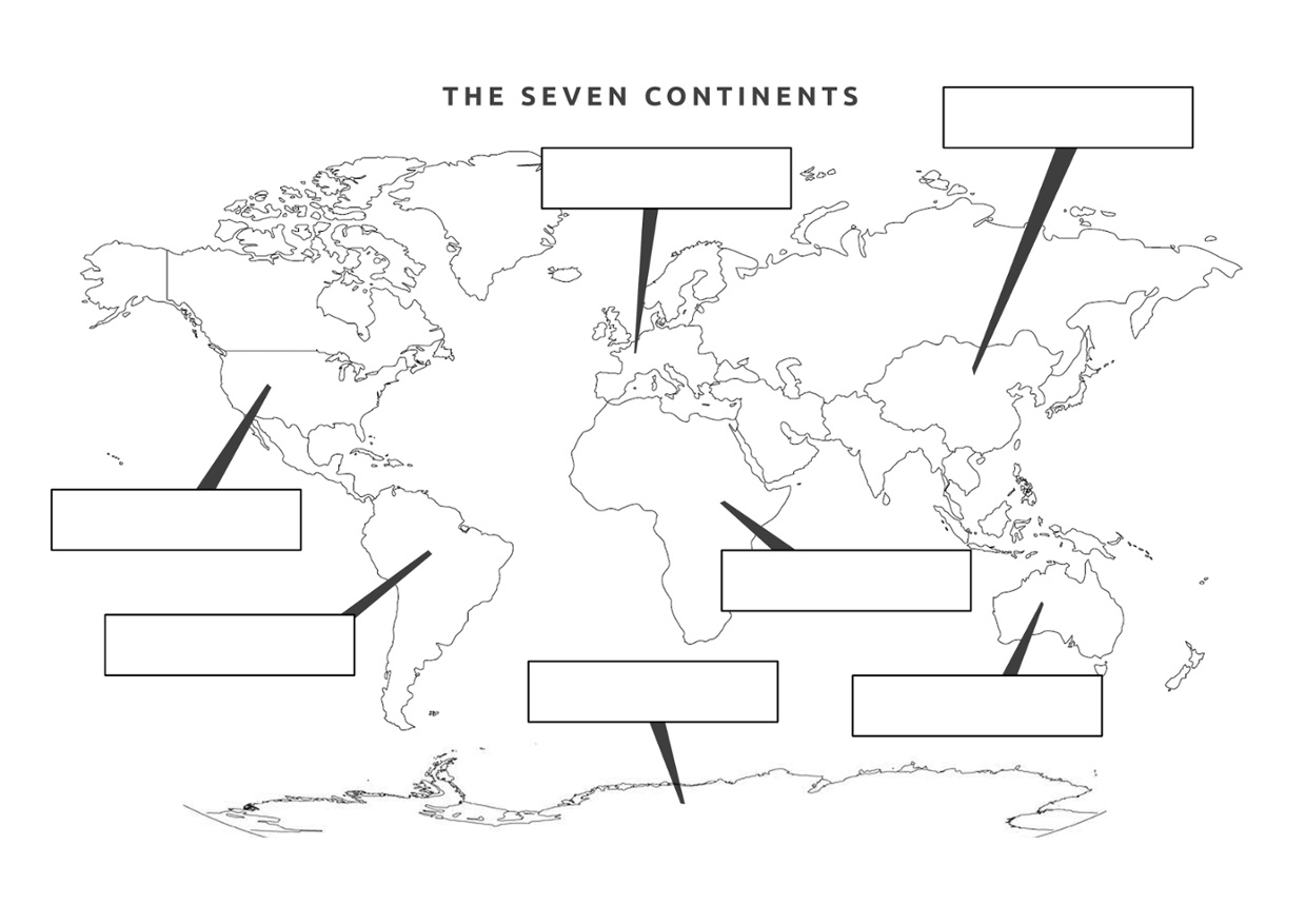 Worksheets Continent Worksheets the seven continents thinglink by sheri richey