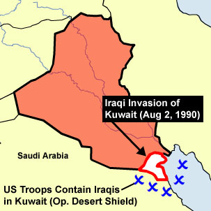 an analysis of iraqs invasion of kuwait The gulf war: overreaction this is followed by an analysis for the major factors that the iraqi invasion of kuwait may be more understood if it is.