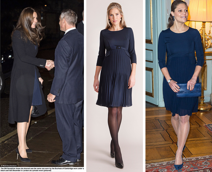 a0e4c4fe26 Meet the Seraphine Maternity Dress Loved by Royalty