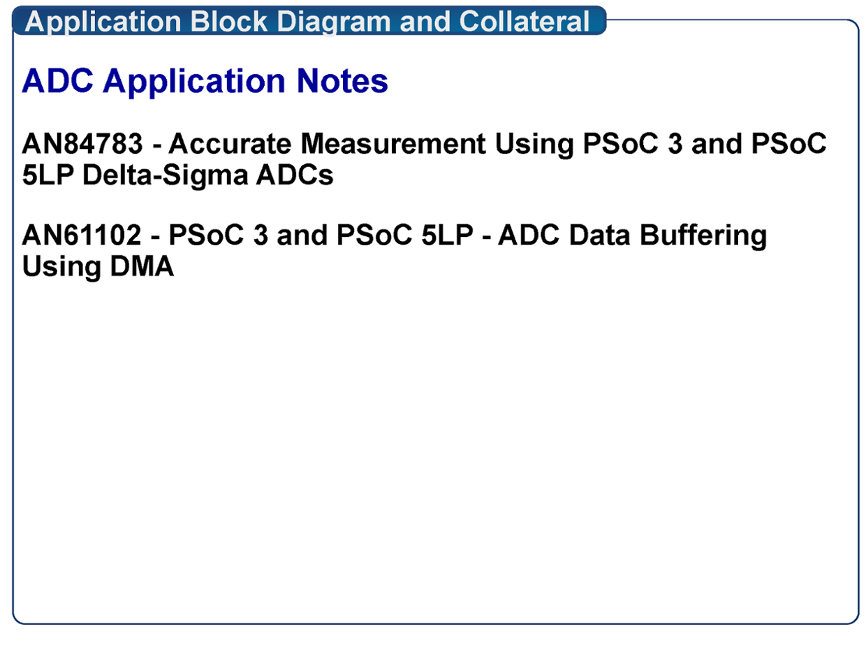 AN84783 - Accurate Measurement Using PSoC 3 and PSoC 5LP .