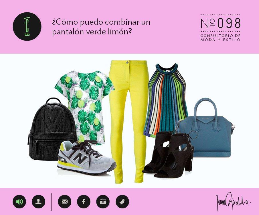 Verde Tuatu Consultorio¿cómo Pantalón Limón – Puedo Combinar Un tshQrdxC
