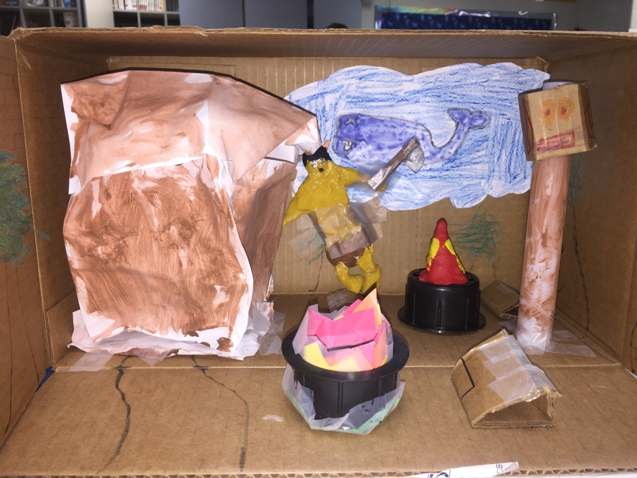 Coopers native American project of the northwest coast