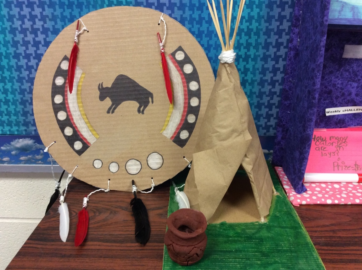 Emma and Ashely's Plains Indians project