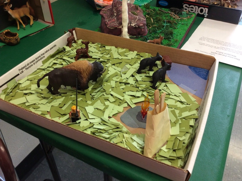 Kaden's Plains diorama projects