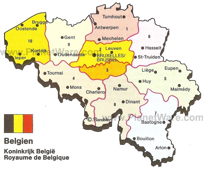 Belgium tourist attractions ThingLink