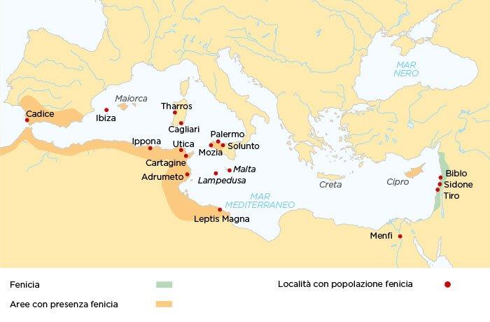 In crociera nel Mediterraneo sulle rotte dei Fenici