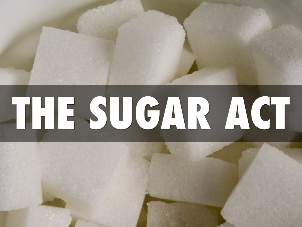 the sugar act was past in 1764