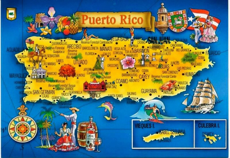 Puerto Rico ThingLink – Tourist Attractions Map In Puerto Rico