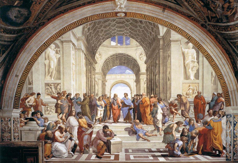 Credits, Plato - great Greek Philosopher, Greek style Arc...