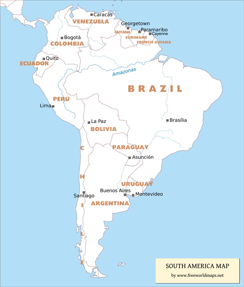 a history of brazil the largest country in south america Brazil is the largest country in south america the name brazil comes from a tree named brazilwood it is called brasil in portuguese, the official.