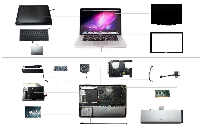 """15"""" Macbook Pro 2008 (A1286)"""