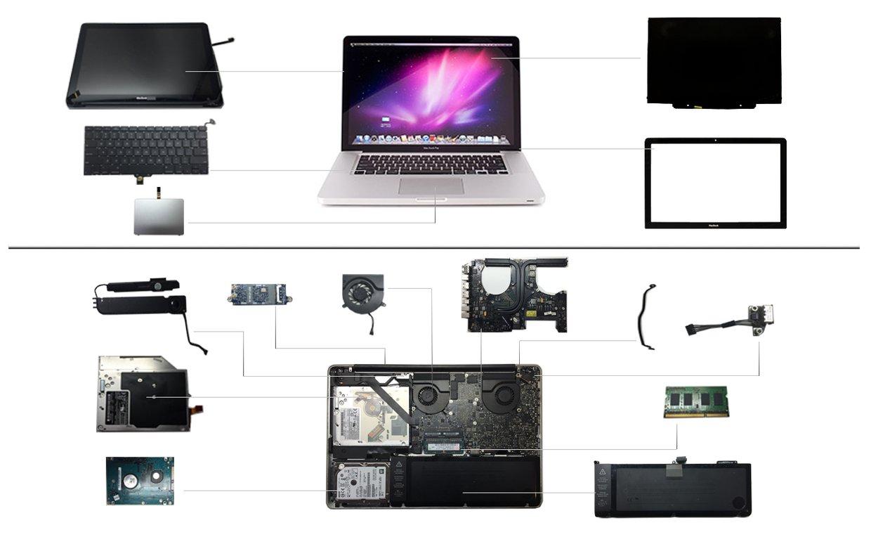 """15"""" Macbook Pro 2012 (A1286)"""
