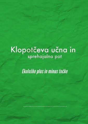6. festival računalništva, Klopotčeva učna in sprehajalna...