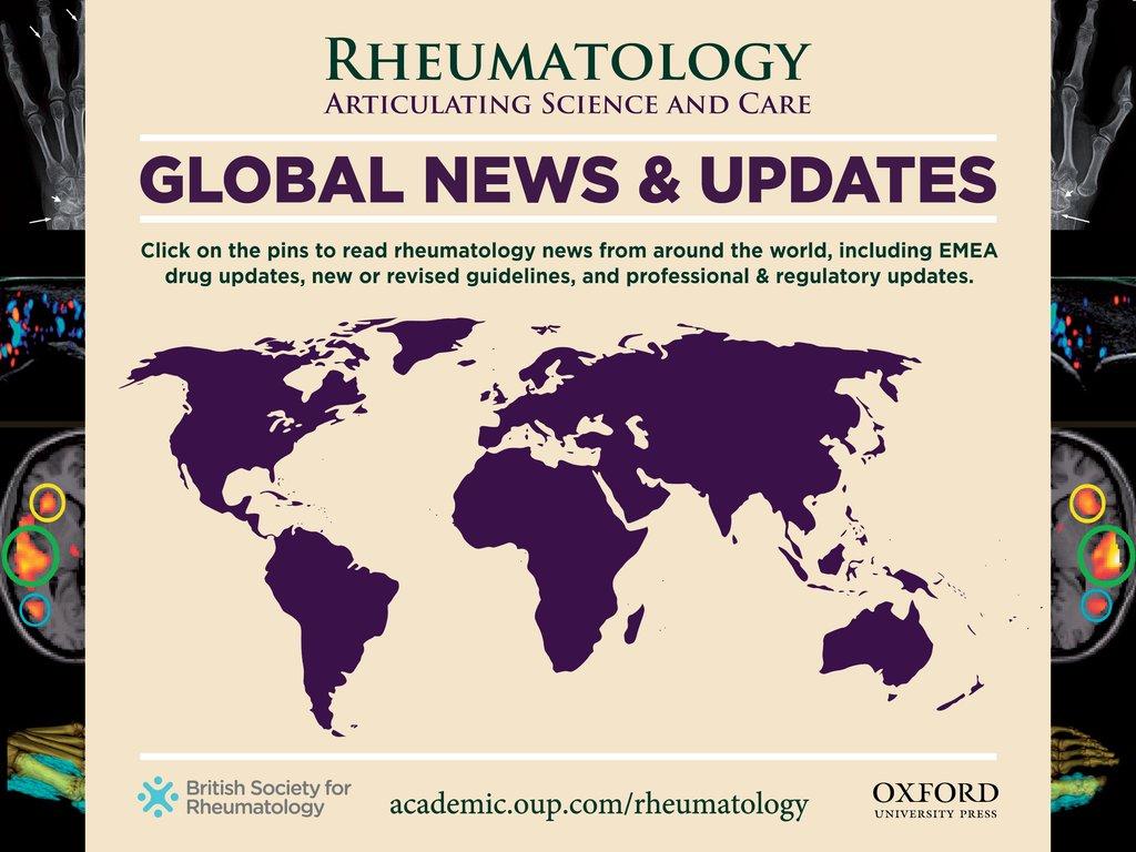 Global News and Updates | Rheumatology | Oxford Academic