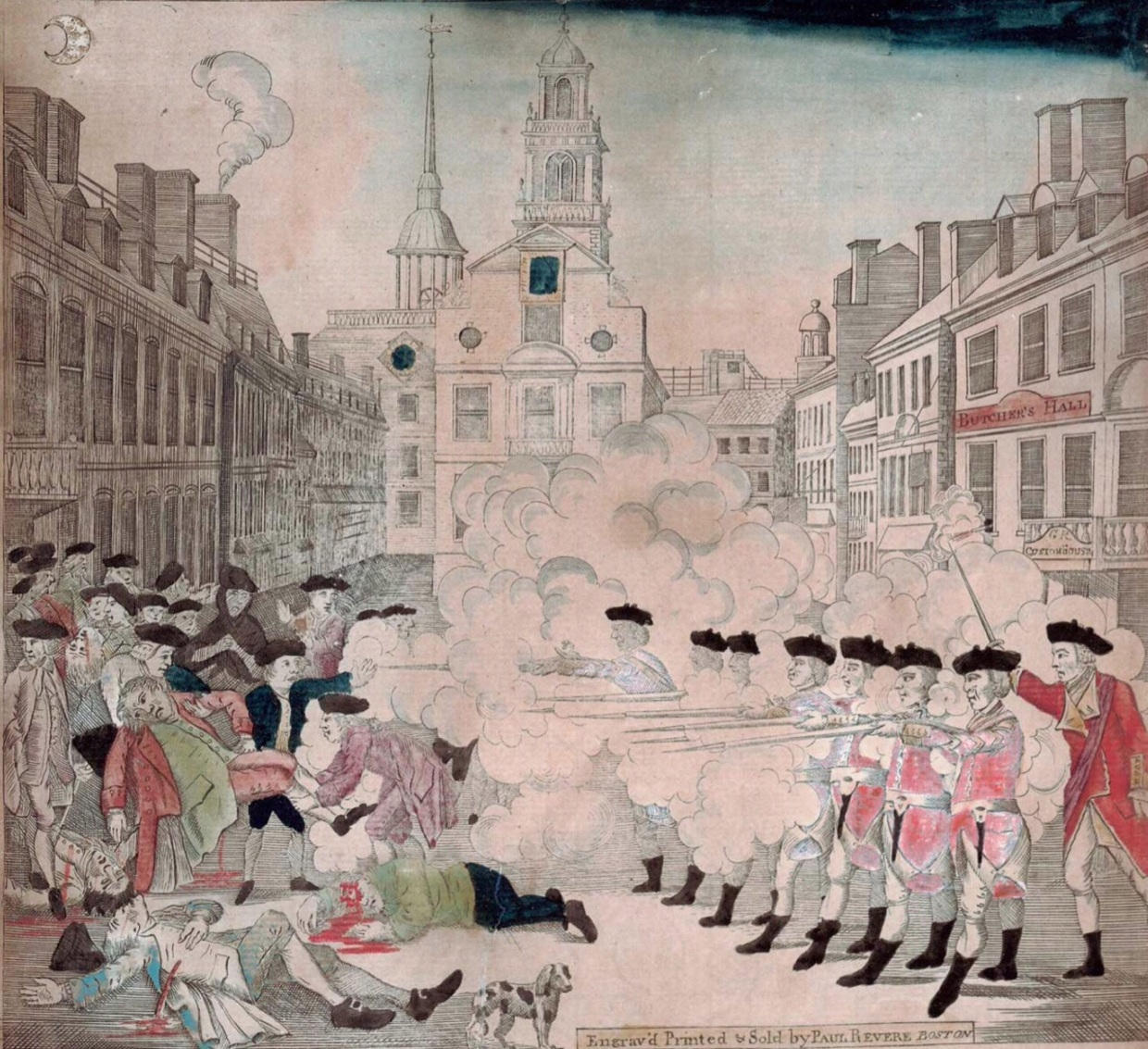 the events and social effects of the boston massacre Boston massacre definition, a riot in boston (march 5, 1770) arising from the resentment of boston colonists toward british troops quartered in the city, in which the troops fired on the mob and killed several persons see more.