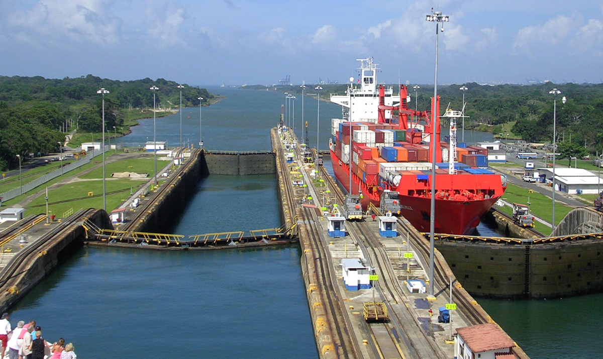 Canals In The United States : The panama canal is a that united states built