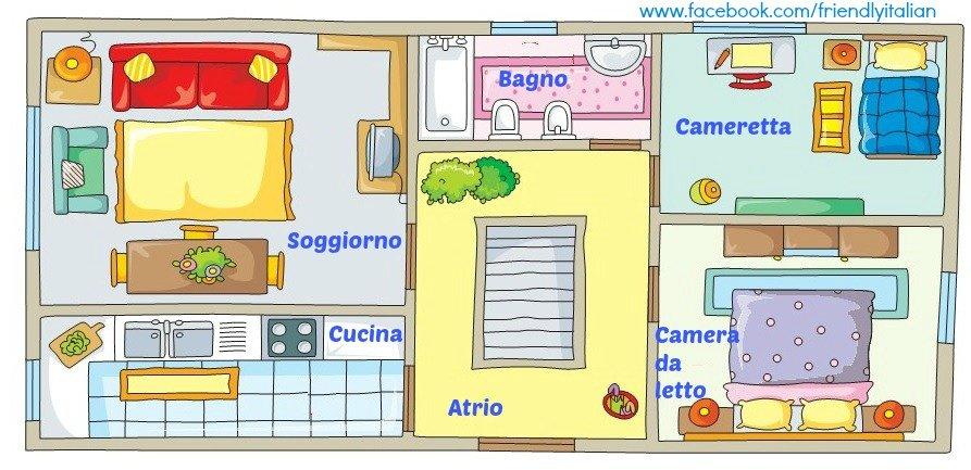 In my house for Arredamento della casa con la a