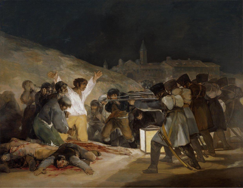 Francisco de Goya, Los fusilamientos del tres de mayo