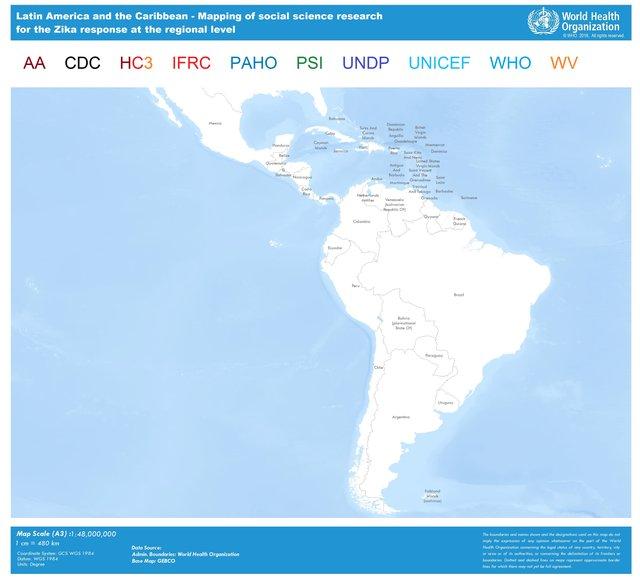 WHO | Mapping social science research for Zika virus response Zika Virus Locations Map on west nile virus map, yellow fever map, japanese encephalitis map, powassan virus map,
