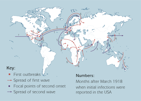 Could the Spanish Influenza become a pandemic again? (2016)