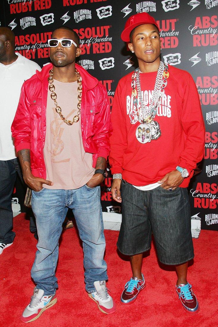 How to Dress Like Kanye West & Pharrell Williams (In 2006)