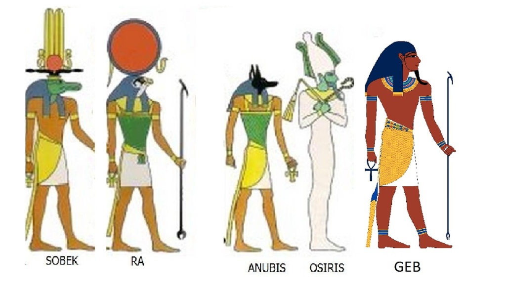 the main egyptian gods