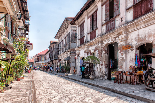 The Historic Town Of Vigan