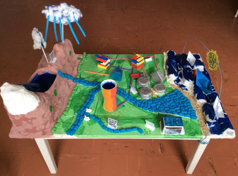 #eaudefi La maquette augmentée sur l'eau @Les_Nous_Nours