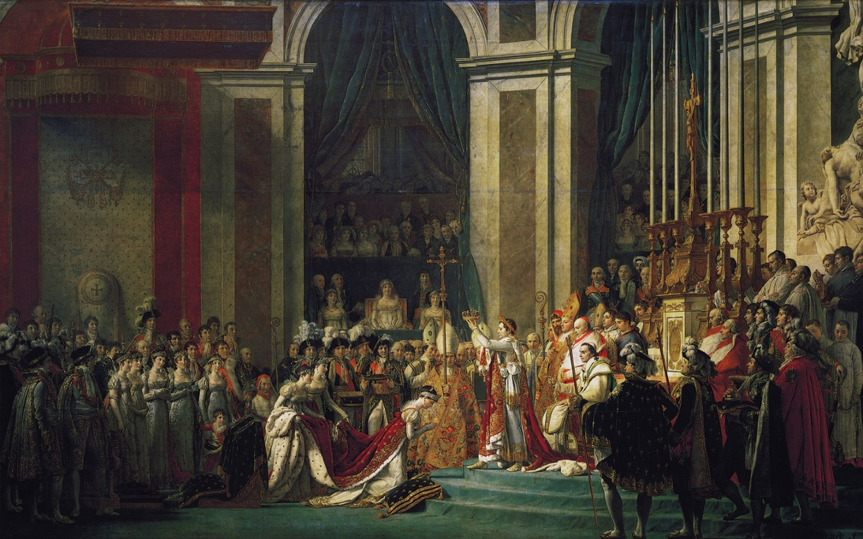 "Remix of ""Site consultable à propos de Jacques Louis David."