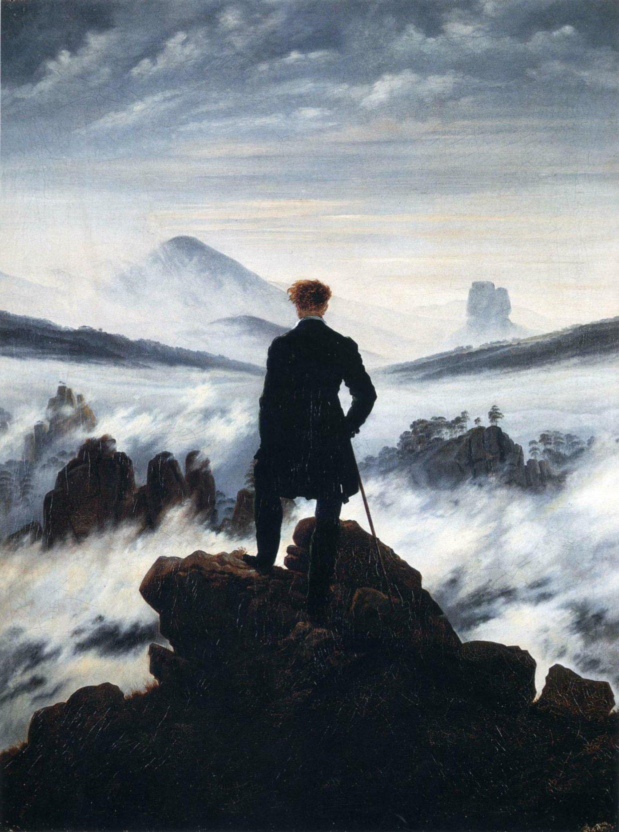 """Histoire de l'arts : """"Le Voyageur contemplant..."""""""