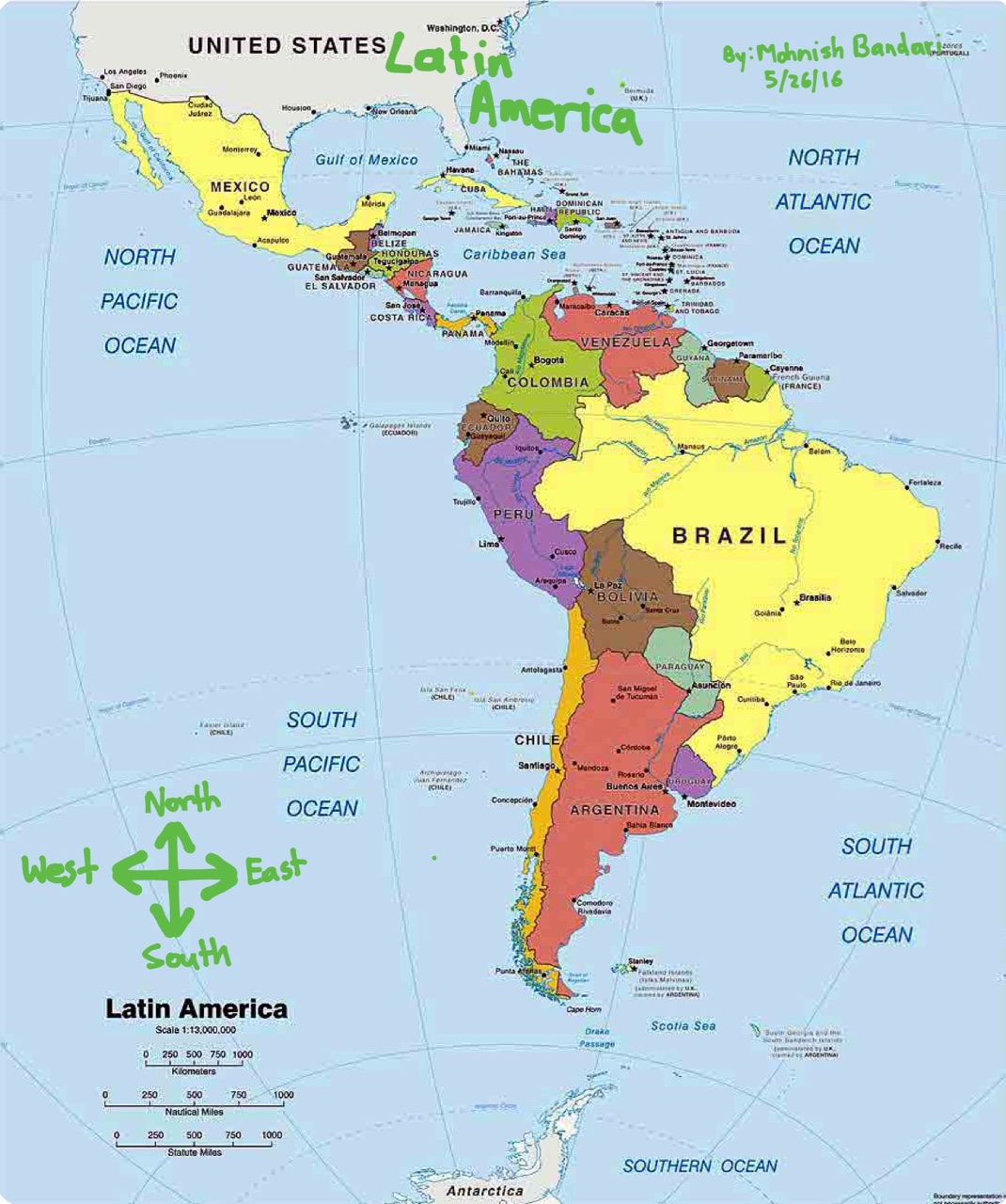 South America: Latin America Project