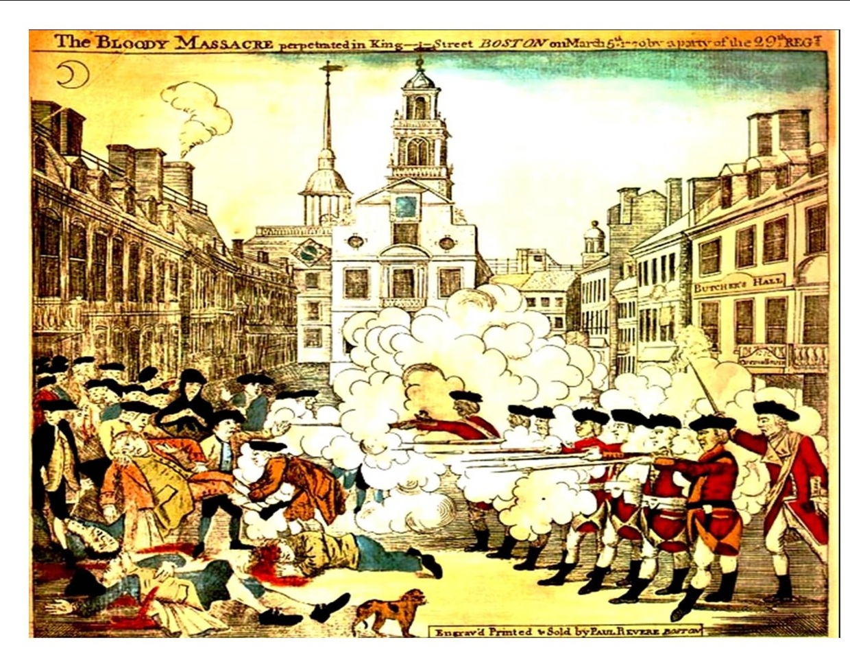 boston massacre thinglink
