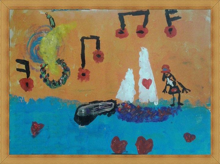 Ο πίνακας με τις αναμνήσεις της Σάρας της κιθάρας