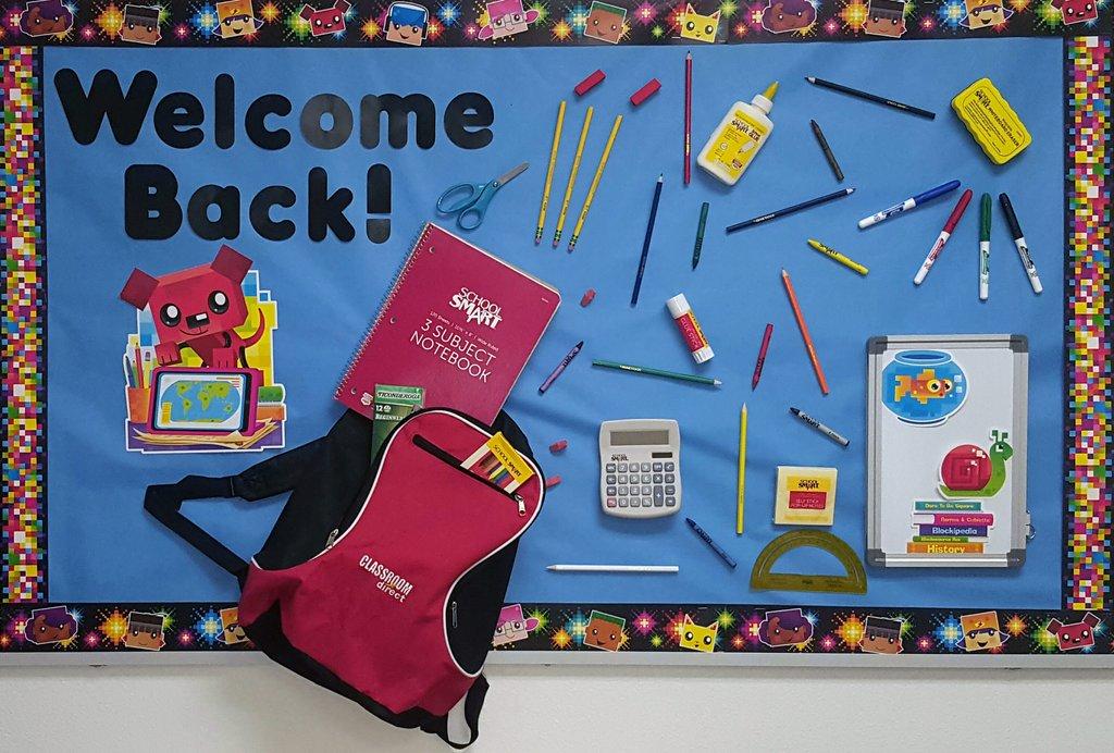 Welcome Back School Supplies