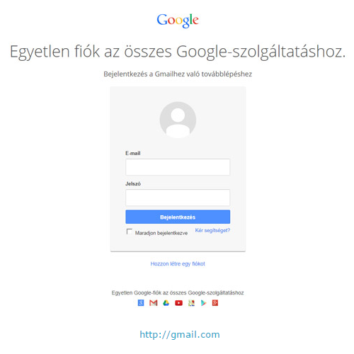 {* Gmail Bejelentkezés | Gmail Belépés *} - www. gmail.hu