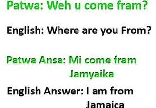 Kyli Kress Jamaica ThingLink - What language do they speak in jamaica