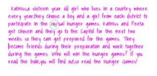 Christine A24 The Hunger Games App Smashing Book Report