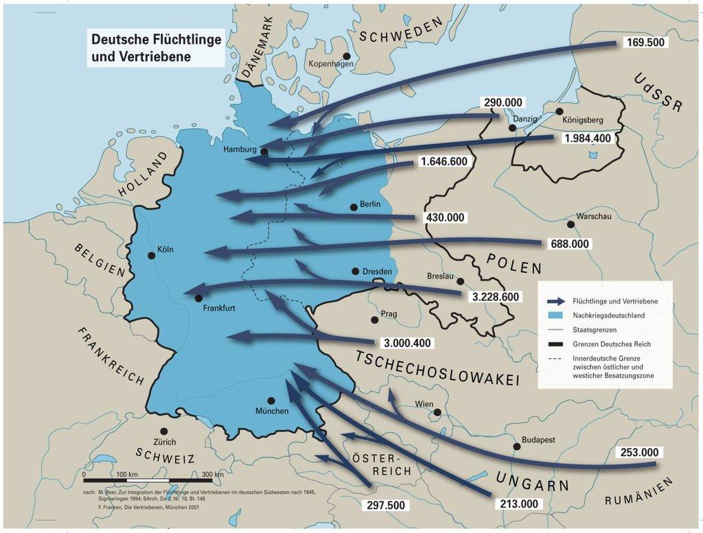 Flucht Und Vertreibung 2 Weltkrieg